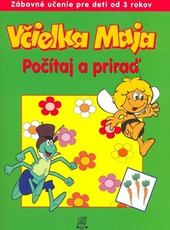 Včielka Maja Počítaj a priraď