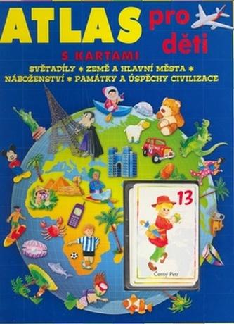 Atlas pro děti s kartami