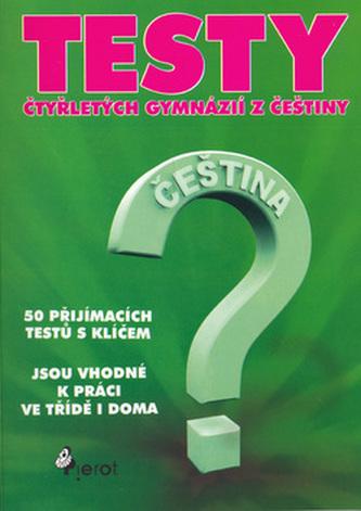 Testy čtyřletých gymnázií z češtiny