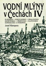 Vodní mlýny v Čechách IV.