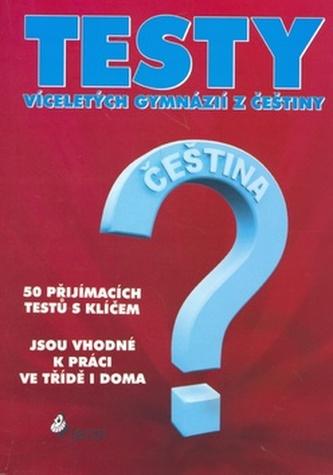 Testy víceletých gymnázií z češtiny