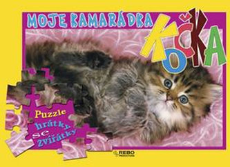 Moje kamarádka Kočka - puzzle