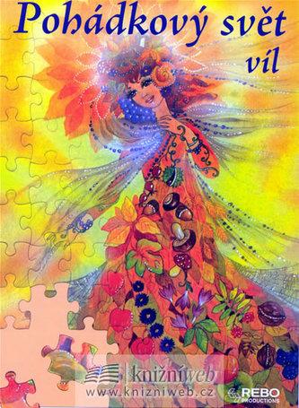 Pohádkový svět víl (čtyři puzzle s 80 dílky)