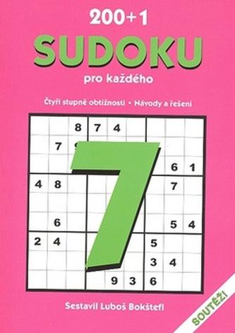 200+1 sudoku pro každého 7.