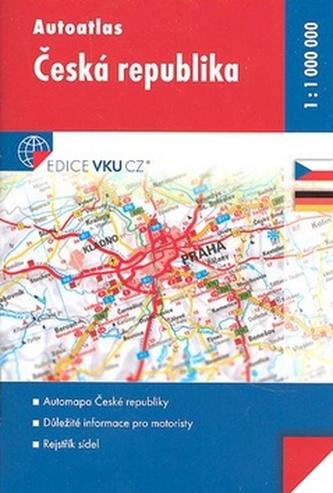 Autoatlas Česká Republika 1:1 000 000