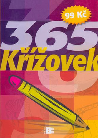 365 křížovek barevná tužka