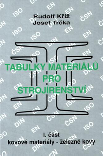 Tabulky materiálů pro strojírenství I.část