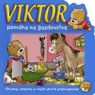 Viktor pomáha na gazdovstve