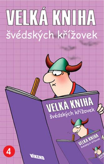 Velká kniha švédských křížovek 4.