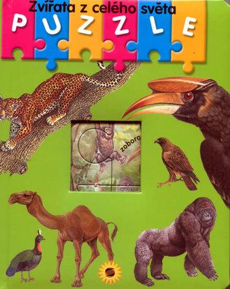 Zvířata z celého světa Puzzle