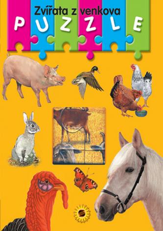 Zvířata z venkova Puzzle