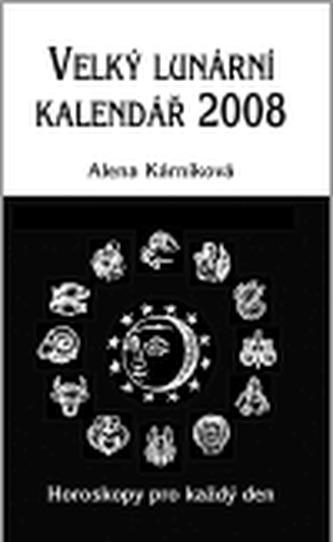 Velký lunární kalendář 2008