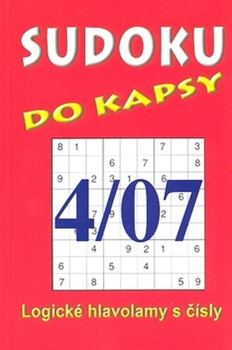 Sudoku do kapsy 4/07