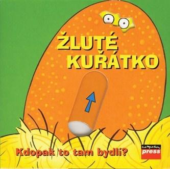 Žluté kuřátko