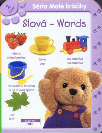 Slová - Words 2 - leporelo