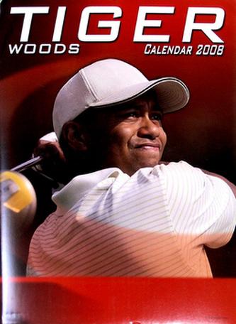 Tiger Woods 2008 - nástěnný kalendář