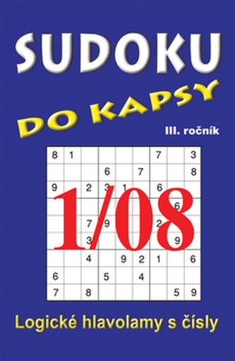 Sudoku do kapsy 1/08