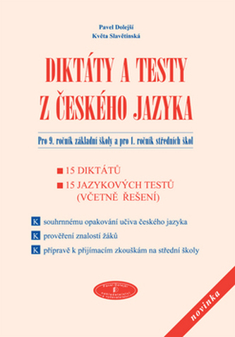Diktáty a testy z českého jazyka