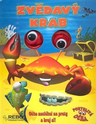 Zvědavý krab - pohyblivá očka