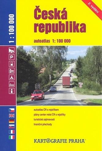 Česká republika Autoatlas 1: 100 000