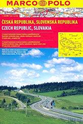 Česká republika, Slovenská republika 1:24 000