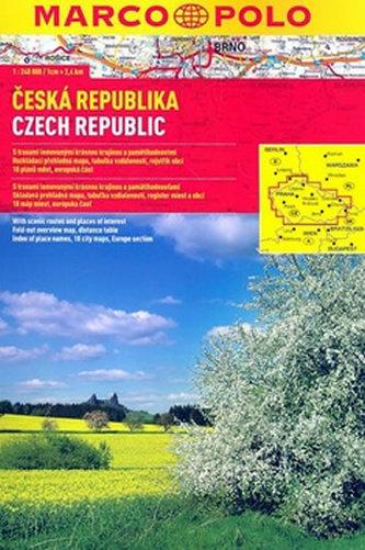 Česká republika 1:240 000