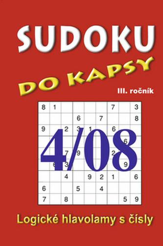 Sudoku do kapsy 4/08