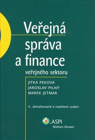 Veřejná správa a finance veřejného sektoru