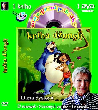 Moje první pohádky-Kniha džunglí (omalovánky a DVD)