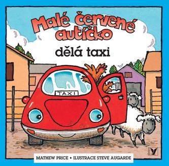 Malé červené autíčko dělá taxi