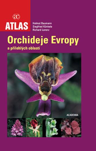 Atlas Orchideje Evropy