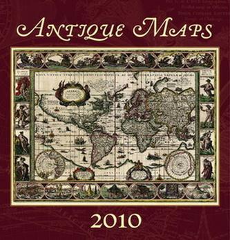 Antique Maps 2010 - nástěnný kalendář