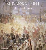 Alfons Mucha Slovanská epopej 2010 - nástěnný kalendář