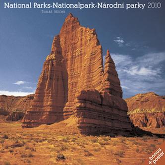Národní parky Tomáš Míček 2010 - nástěnný kalendář