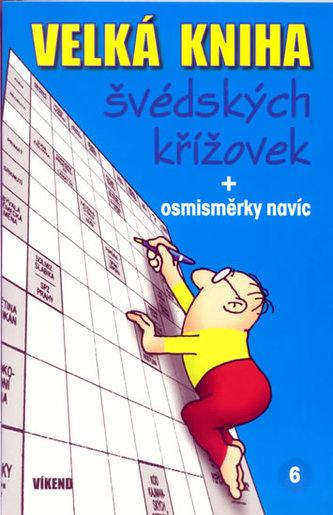 Velká kniha švédských křížovek 6.