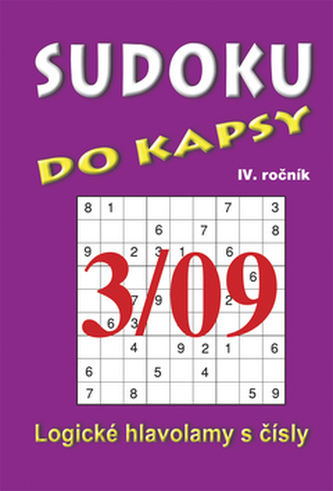 Sudoku do kapsy 3/09