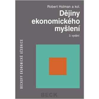 Dějiny ekonommckého myšlení 3. vydání