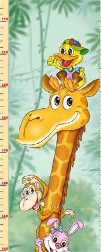 Detský meter - Zvieratá