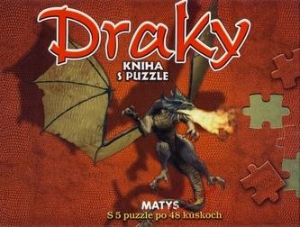Draky - kniha s puzzle