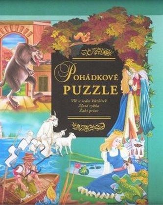 Pohádkové puzzle Vlk a sedm kůzlátek