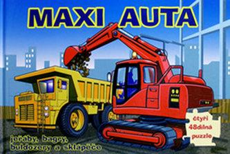 Maxi auta - puzzle - 3. vydání