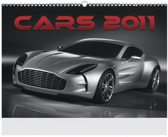 Cars 2011 - nástěnný kalendář