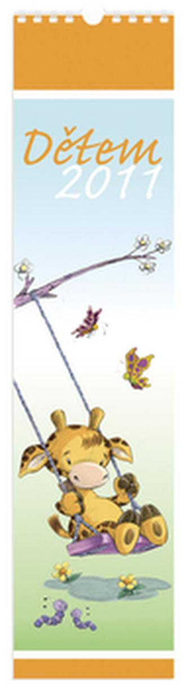 Dětem 2011 - nástěnný kalendář