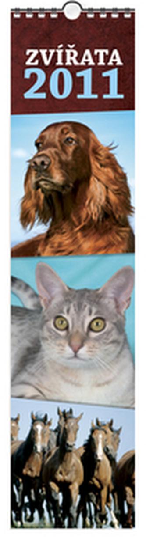 Zvířata 2011 - nástěnný kalendář