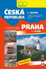 Autoatlas Česká republika Praha a okolí