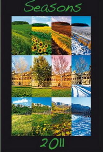 Čtyři roční období 2011 - nástěnný kalendář