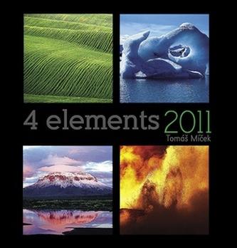 4 elements 2011 Tomáš Míček - nástěnný kalendář