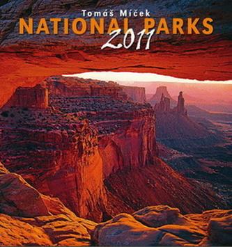 Národní parky 2011 Tomáš Míček - nástěnný kalendář