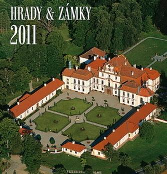 Hrady a zámky letecky 2011 - nástěnný kalendář