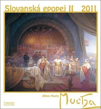 Alfons Mucha Slovanská epopej II 2011 - nástěnný kalendář